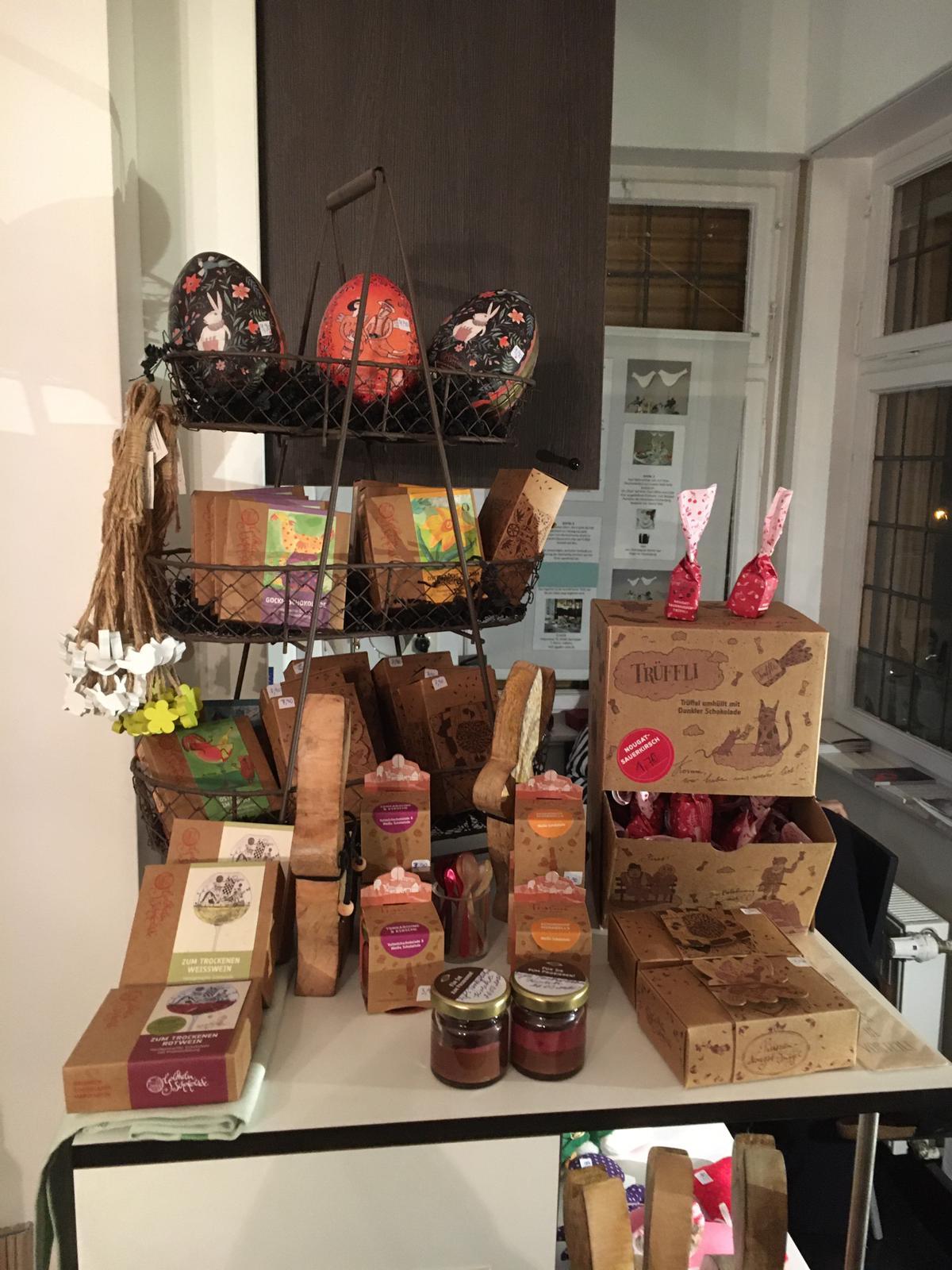 Schokolade der Schokoladenmanufaktur Goldhelm