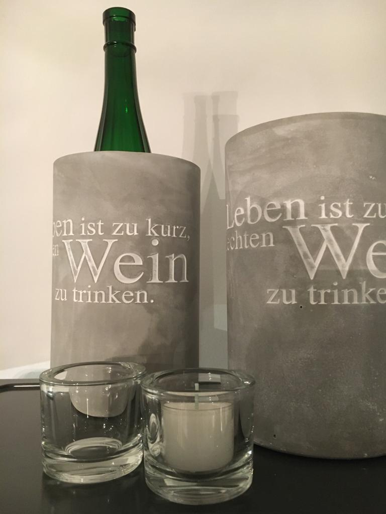 Weinkühler/ Beton