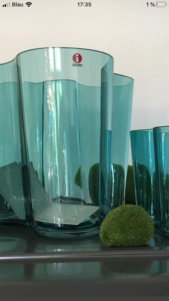 Glasvasen von Iittala